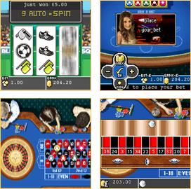 Blue Square Mobile Casino Screenshots