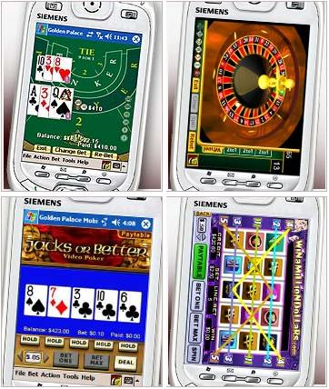 Golden Palace Mobile Casino Screenshot