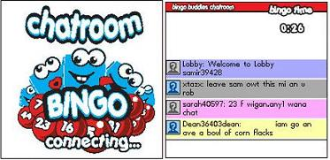 Mobile Bingo Chat Room