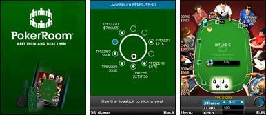 PokerRoom Mobile Screenshots