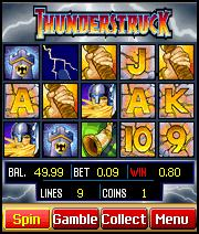 Thunderstruck Mobile Slots Game