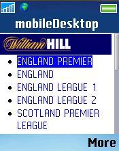 William Hill Mobile Screenshots