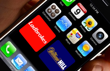 Ladbrokes on iPhone