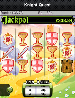 Knight Quest Mobile Slots