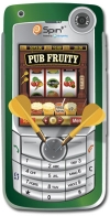 Pub Fruity On Phone