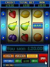Screen Shot of Fruit Machine